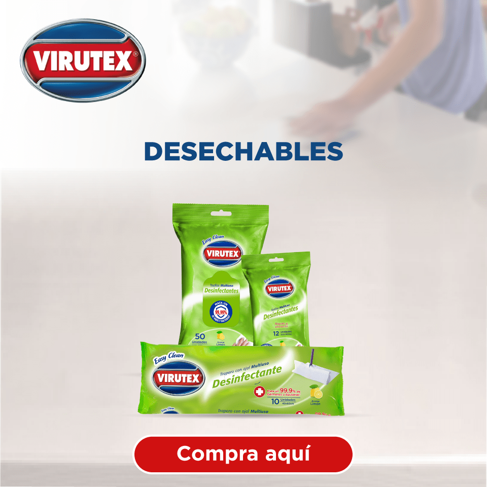 Productos desechables virutex